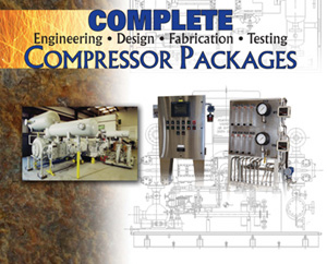 Compressor Packages, Engineering, Design, Fabrication and Testing
